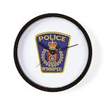 Winnipeg Police Wall Clock