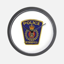Winnipeg Police Wall Clock