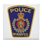 Winnipeg Police Tile Coaster