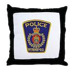 Winnipeg Police Throw Pillow