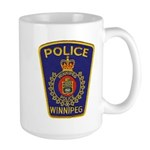 Winnipeg Police Large Mug