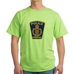 Winnipeg Police Green T-Shirt