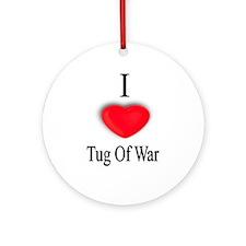 Tug Of War Ornament (Round)