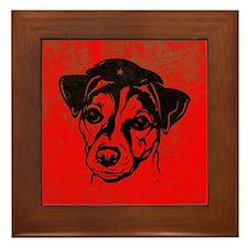Jack Russell Terrier Revolution! Framed Tile