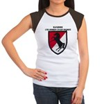 11TH ARMORED CAVALRY RE Women's Cap Sleeve T-Shirt