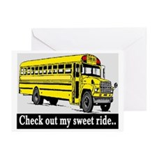 CHECK OUT MY SWEET RIDE Greeting Cards (Pk of 10)