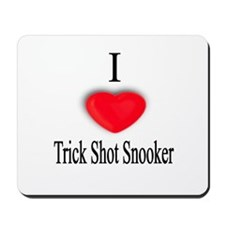 Trick Shot Snooker Mousepad
