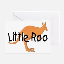 LITTLE ROO - BROWN ROO Greeting Card