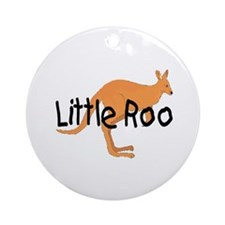 LITTLE ROO - BROWN ROO Ornament (Round)