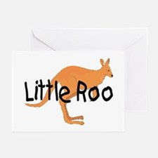LITTLE ROO - BROWN ROO Greeting Cards (Pk of 10)
