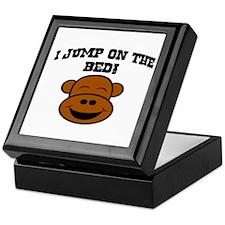 I JUMP ON THE BED! Keepsake Box