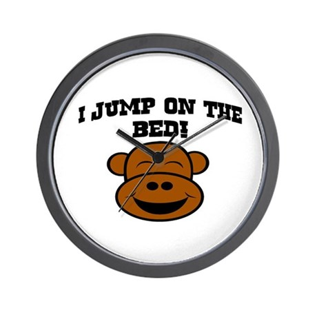 I JUMP ON THE BED! Wall Clock