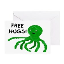 FREE HUGS! Greeting Card