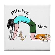 Pilates Mom Tile Coaster