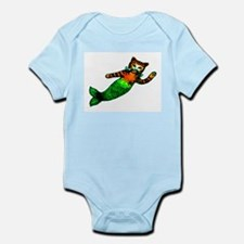 MERMAID KITTY Infant Bodysuit