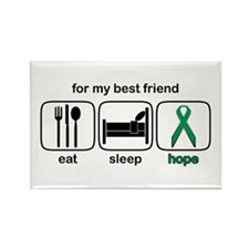 Best Friend ESHope Kidney Rectangle Magnet