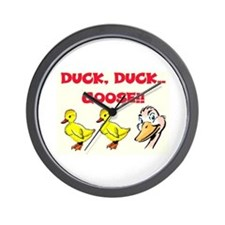 DUCK, DUCK, GOOSE! Wall Clock