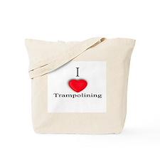 Trampolining Tote Bag