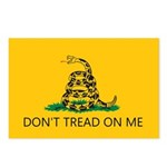 Don't Tread On Me (Gadsden Flag) Postcards (Packag