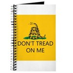 Don't Tread On Me (Gadsden Flag) Journal