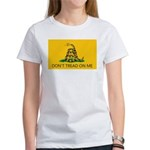 Don't Tread On Me (Gadsden Flag) Women's T-Shirt