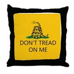 Don't Tread On Me (Gadsden Flag) Throw Pillow