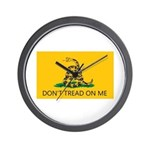 Don't Tread On Me (Gadsden Flag) Wall Clock