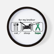 Brother ESHope Kidney Wall Clock