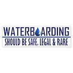 Waterboarding Bumper Sticker (50 pk)
