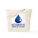 Waterboarding Tote Bag