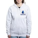 Waterboarding Women's Zip Hoodie