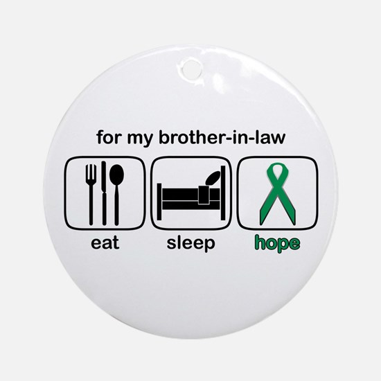 Brother-in-law ESHope Kidney Ornament (Round)