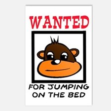 WANTED: JUMPING ON THE BED Postcards (Package of 8