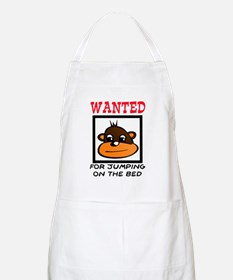 WANTED: JUMPING ON THE BED Apron