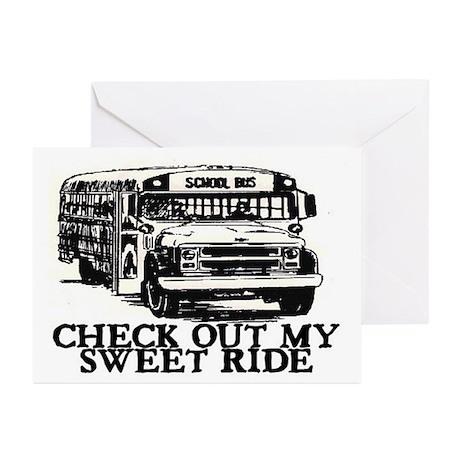 SWEET RIDE II (BUS) Greeting Cards (Pk of 10)