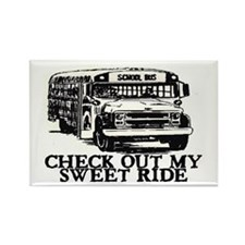 SWEET RIDE II (BUS) Rectangle Magnet (10 pack)