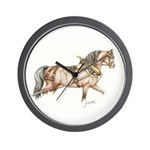 Working Stallion Wall Clock