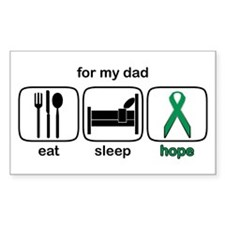 Dad ESHope Kidney Rectangle Decal