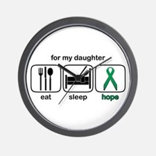Daughter ESHope Kidney Wall Clock