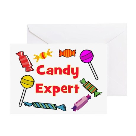 CANDY EXPERT Greeting Card