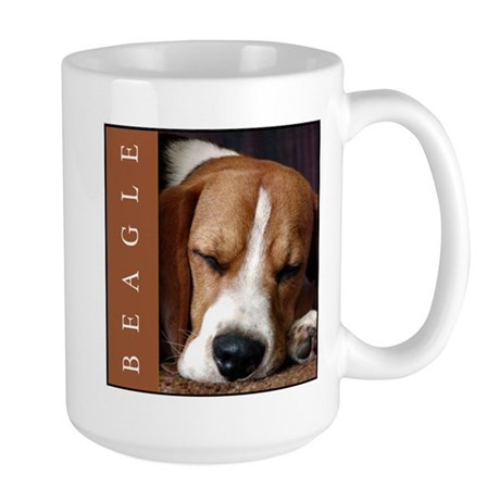Large Beagle Lover's Classic Drinking Mug