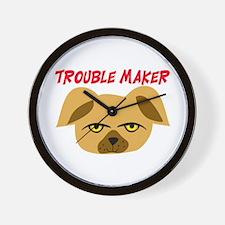 TROUBLE MAKER Wall Clock