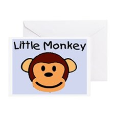 LITTLE MONKEY Greeting Cards (Pk of 20)