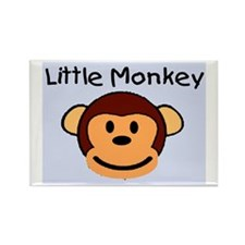 LITTLE MONKEY Rectangle Magnet