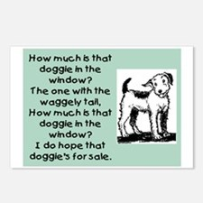 HOW MUCH IS THAT DOGGIE Postcards (Package of 8)