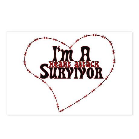 Heart Attack Survivor Postcards (Package of 8)