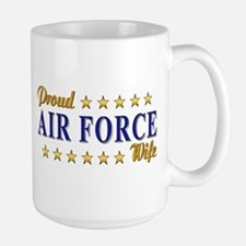 Air Force Wife Large Mug