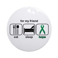Friend ESHope Kidney Ornament (Round)