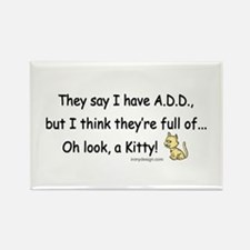 ADD Humor Rectangle Magnet