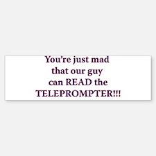 Teleprompter Bumper Bumper Bumper Sticker
